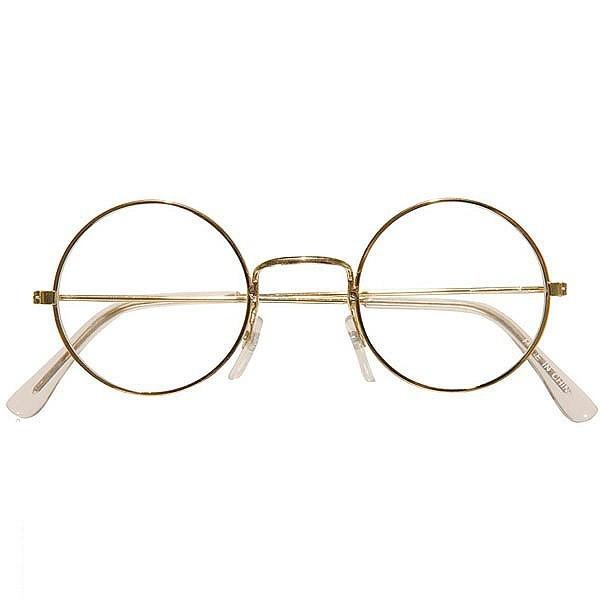 Gafas Abuela Doradas