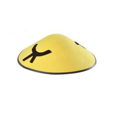 Sombrero Chino Fieltro Amarillo