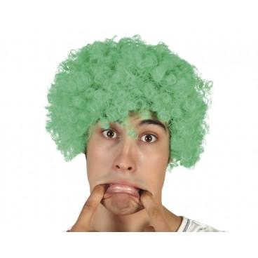 Peluca Rizos Verde