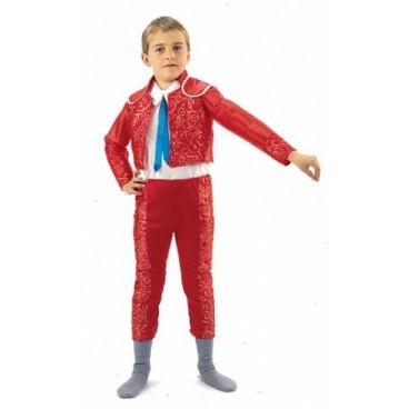 Disfraz Torero Rojo niño