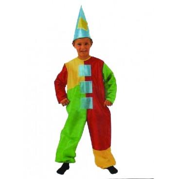 Disfraz Payaso Mono niño