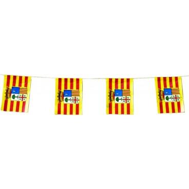 Banderas Aragón Papel 50 M.