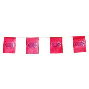 Banderas Navarra Plástico 50 M.