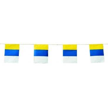 Banderas Canarias Plástico 50 M.