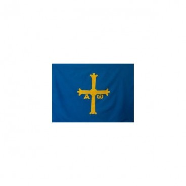 Bandera Asturias Tela 200X134 CM