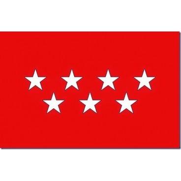 Bandera Madrid Tela 200X134 CM