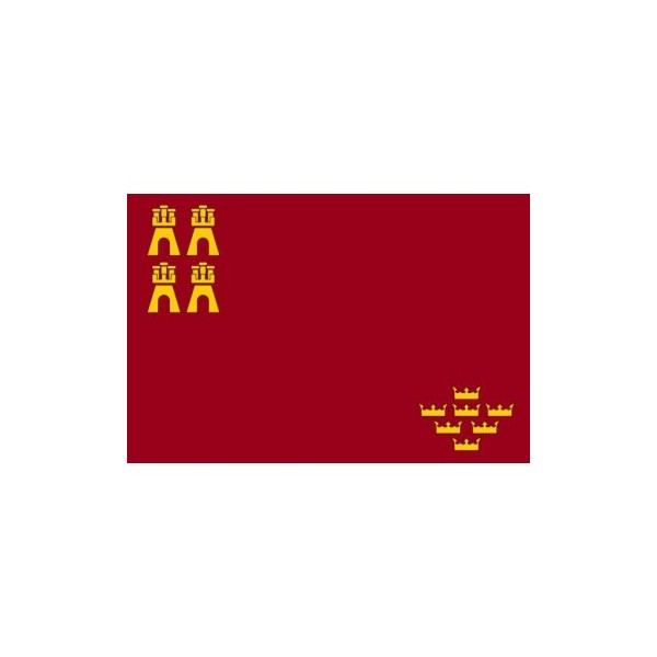 Bandera Murcia Tela 150X100 CM