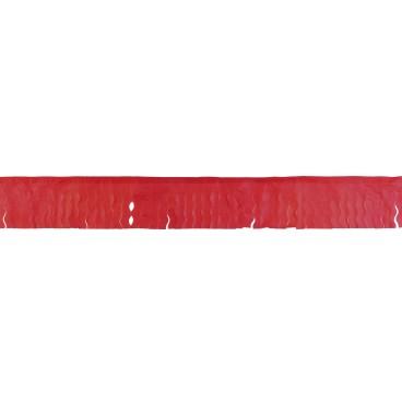 Fleco Rojo Papel 50 M.