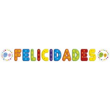 """Guirnalda Plegable """"Felicidades"""""""