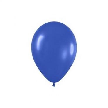 Globos Normales Color Azul, 10 unidades