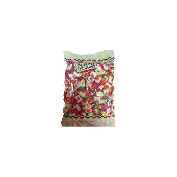 Dulce Caramelos Blandos, Bolsa 2 kg.