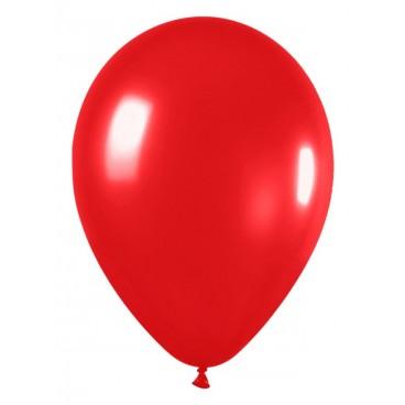 Globos Normales Rojos 100 unidades