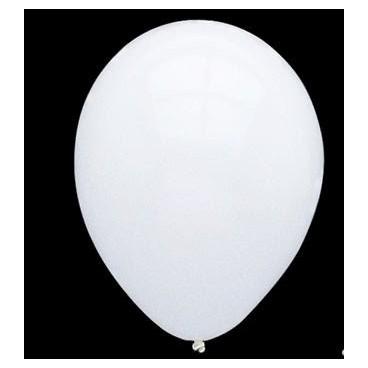 Globos Normales Blancos 100 Unidades