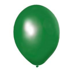 Globos Normales Verdes 100 Unidades