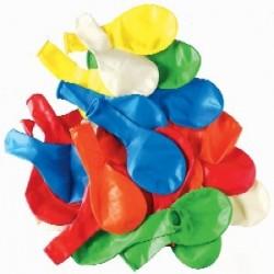 Globos Grandes Multicolor 100 un.