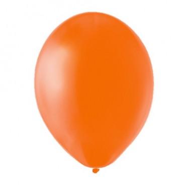 Globos Grandes Naranja 100 un.