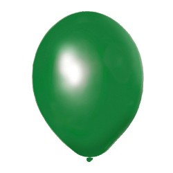 Globos Grandes Verde 100 un.