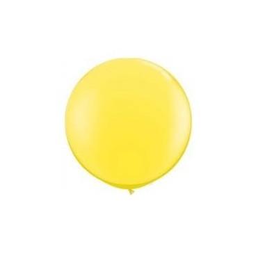 Globos Gigantes Color Amarillo Unidad