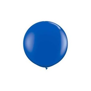 Globos Gigantes Color Azul Unidad