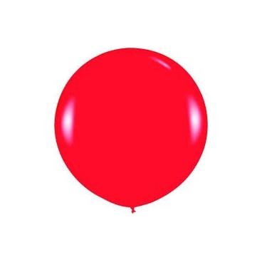 Globos Gigantes Color Rojo Unidad