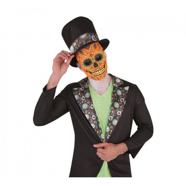 Carnavalandia Tienda De Disfraces Máscara Catrin
