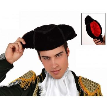 Sombrero Montera Torero Terciopelo