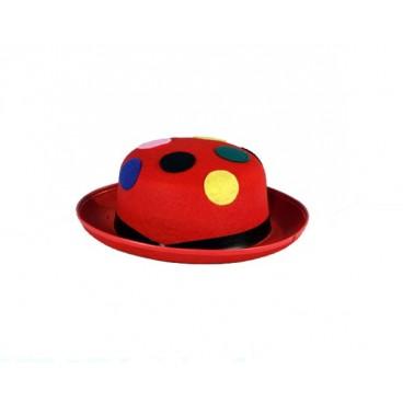 Sombrero Hongo Rojo con Lunares
