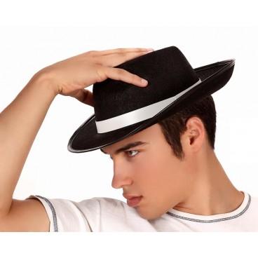 Sombrero Gánster Negro