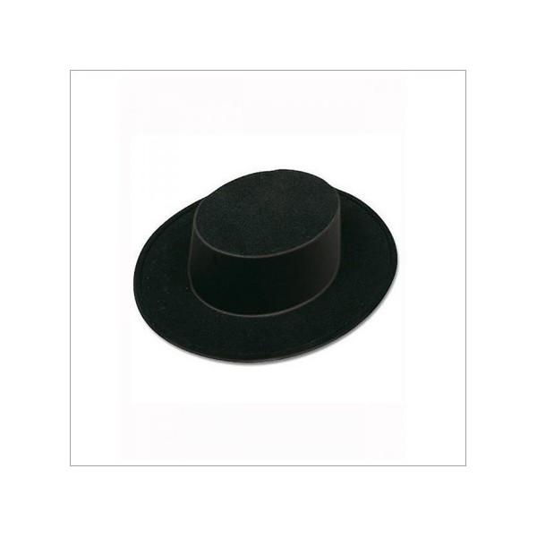 Carnavalandia tienda disfraces Sombrero Cordobés Plástico 67dee1054d3