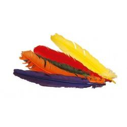 Pluma Indio Suelta Colores Surtidos