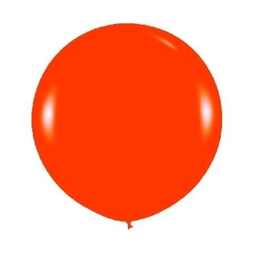 Globos Gigantes Color Naranja Unidad