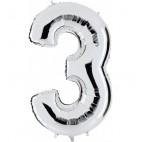 Globos Forma Número 3