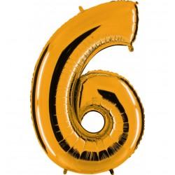 Globos Forma Número 6