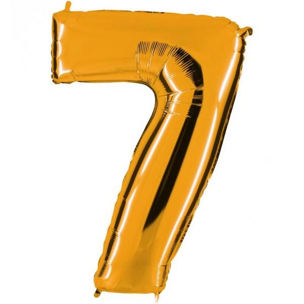 Globos Forma Número 7