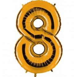 Globos Forma Número 8