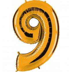 Globos Forma Número 9