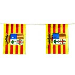 Banderas Aragón Plástico 50 M.