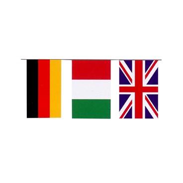 Banderas Internacional Plástico 50 M.