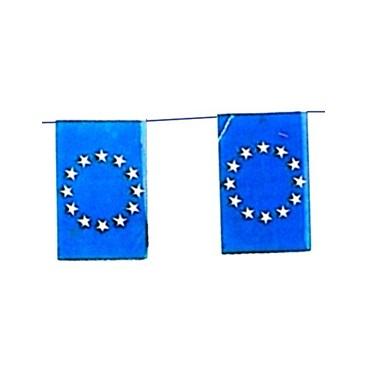 Banderas Europa Plástico 50 M.