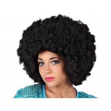 Peluca Afro Negra