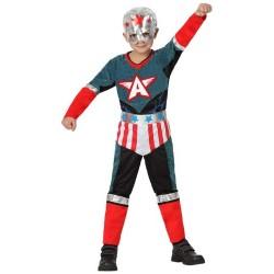 Disfraz Capitan Super Heroe Infantil