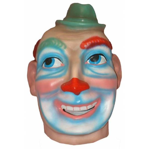 Cabezudo para niños Clown