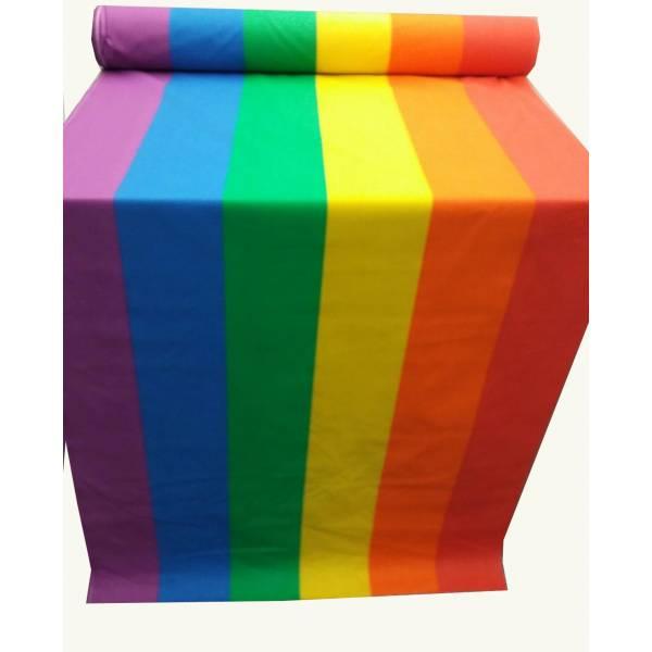 Bandera del Orgullo tela 80 cm ancho y corte por metro