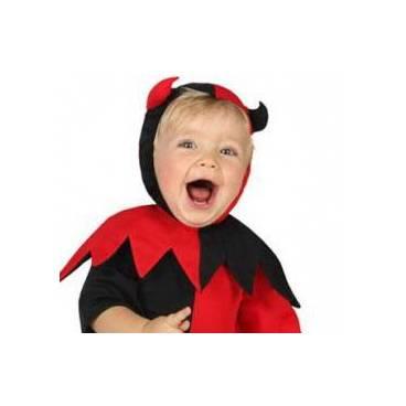 Disfraz Diabla Bebe Carnavalandiasl - Como-maquillar-a-una-diabla