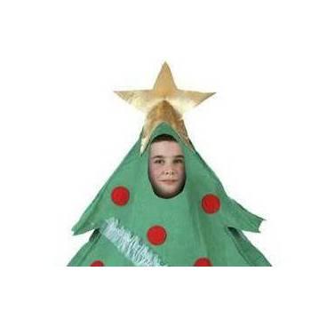 Disfraz Arbol de Navidad niño