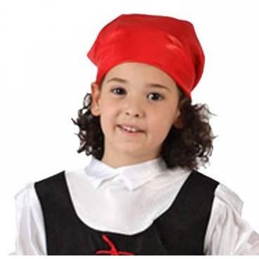 Disfraz Pastora Rojo y Negro infantil