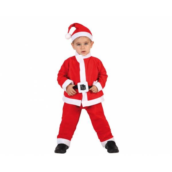 Disfraz Papa Noel sencillo niño
