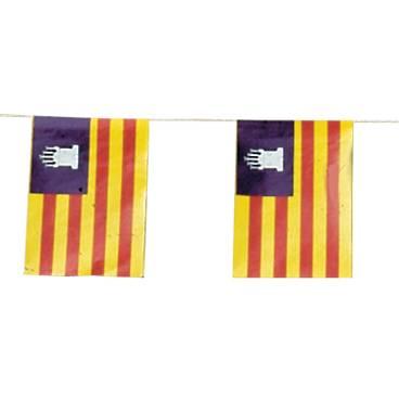 Banderas Baleares Plástico 50 M.