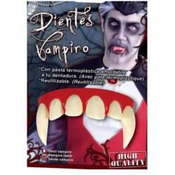 Dentadura Vampiro con Termoplástica