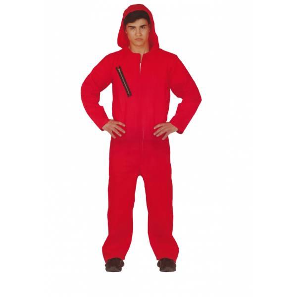 Disfraz Convicto Rojo Adulto